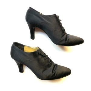 Christian Dior Black Booties Size 37.5 (7.5)